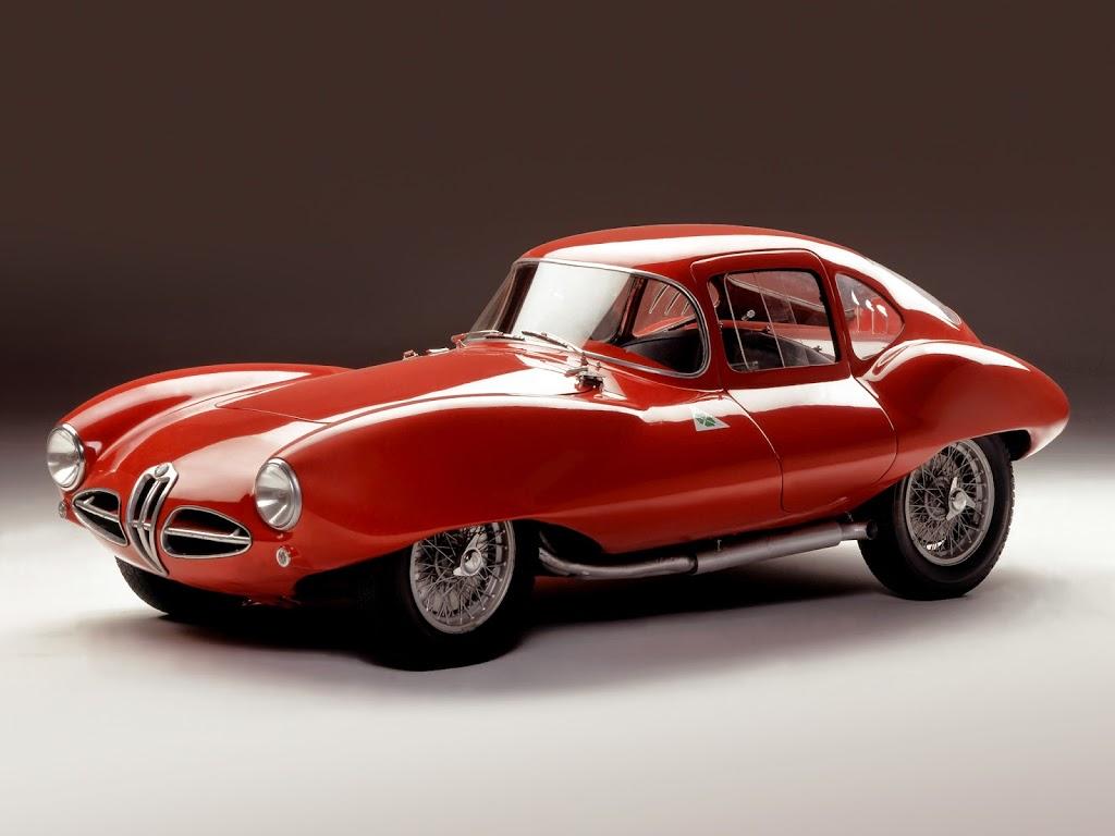 alfa romeo disco volante by touring l 39 eclectic auto. Black Bedroom Furniture Sets. Home Design Ideas