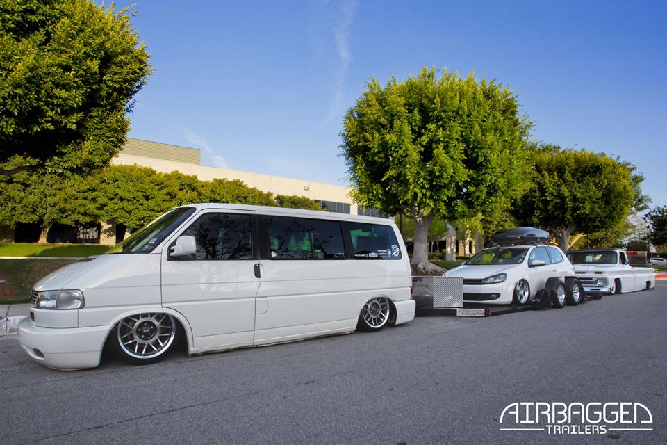airbagged trailers remorque porte voiture sur coussin d 39 air l 39 eclectic auto. Black Bedroom Furniture Sets. Home Design Ideas