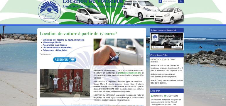 Location de voitures en Guadeloupe pas cher